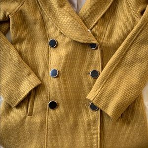 Merona Jackets & Coats - Merona Bell Collared Tweed/Trench  Coat